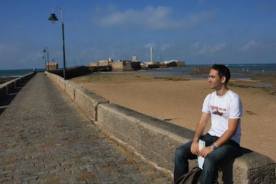 Castle of San Sebastián in Cádiz