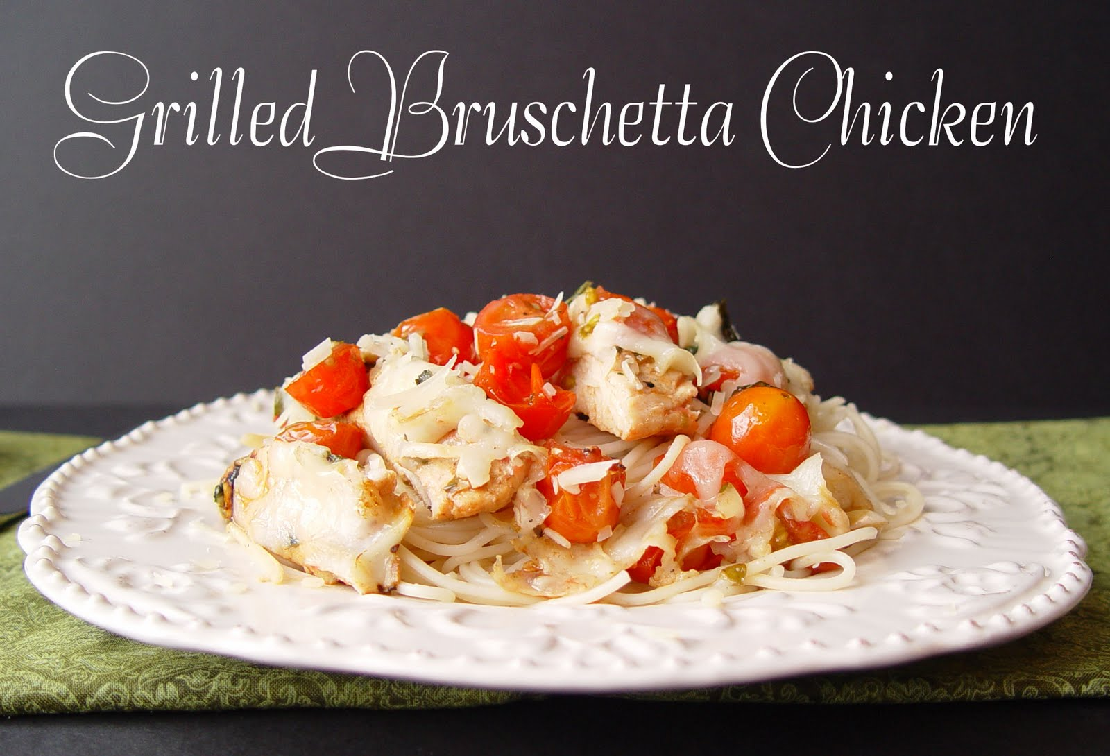 Grilled Chicken Bruschetta Recipe — Dishmaps