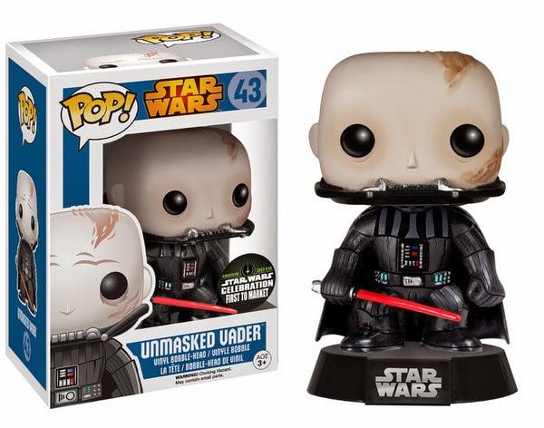 Funko Pop! Unmasked Vader