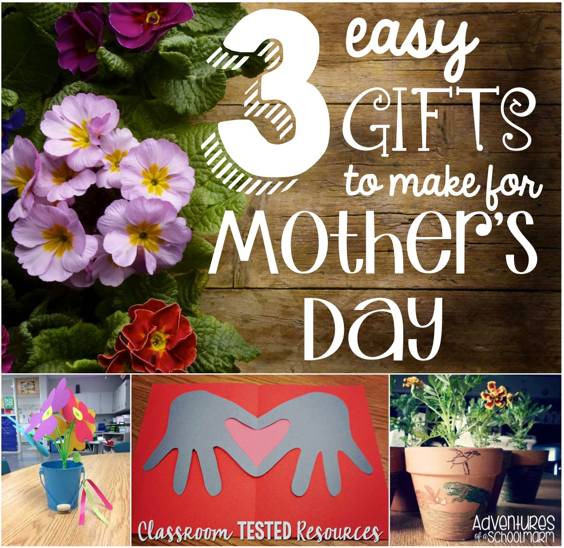 Mothers Day Gifts to Make in Classroom 3 Easy Mother 39 s Day Gifts