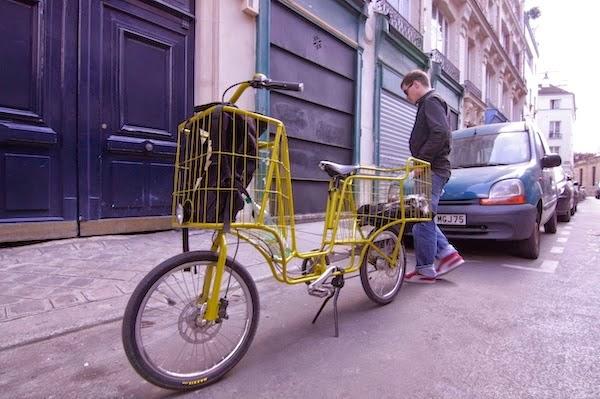 Camioncyclette, Vélo Conçu pour la Charge