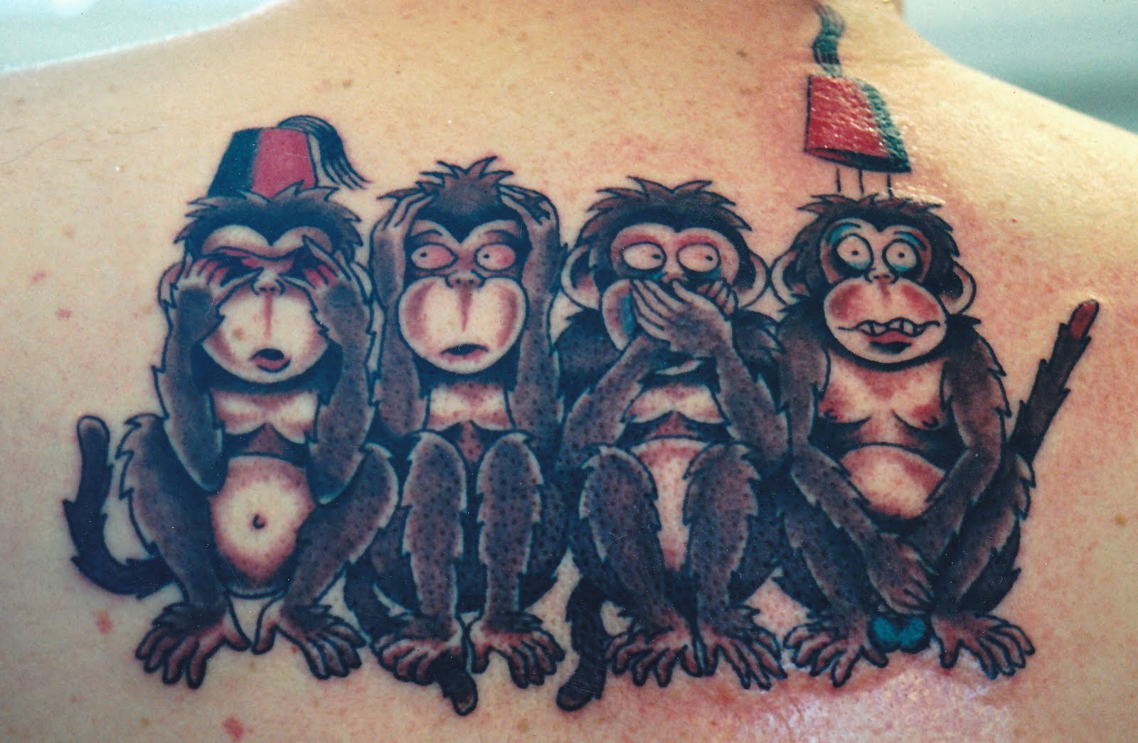 Monkey Tattoo Designs Viewing Gallery