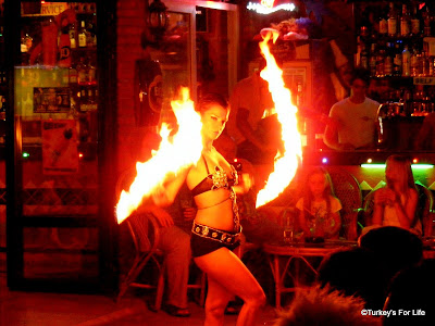 Fire Dancer in Hisarönü