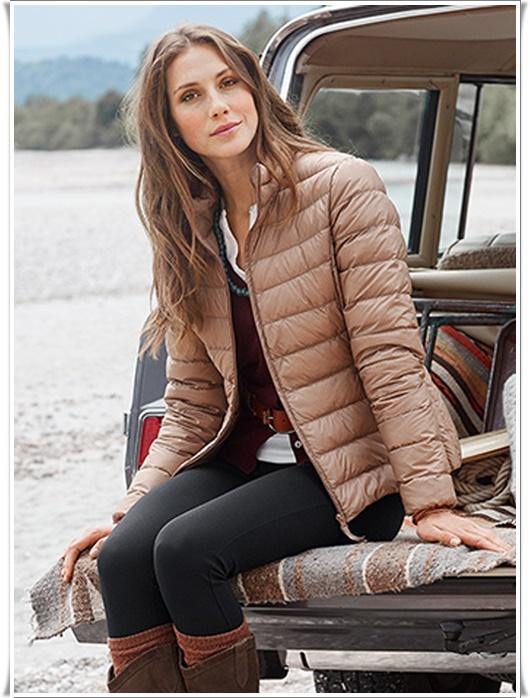 2016 Bayan Şişme Mont Modelleri