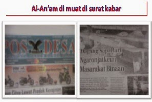 AL-An'am di muat di POS DESA&SUNDA URANG