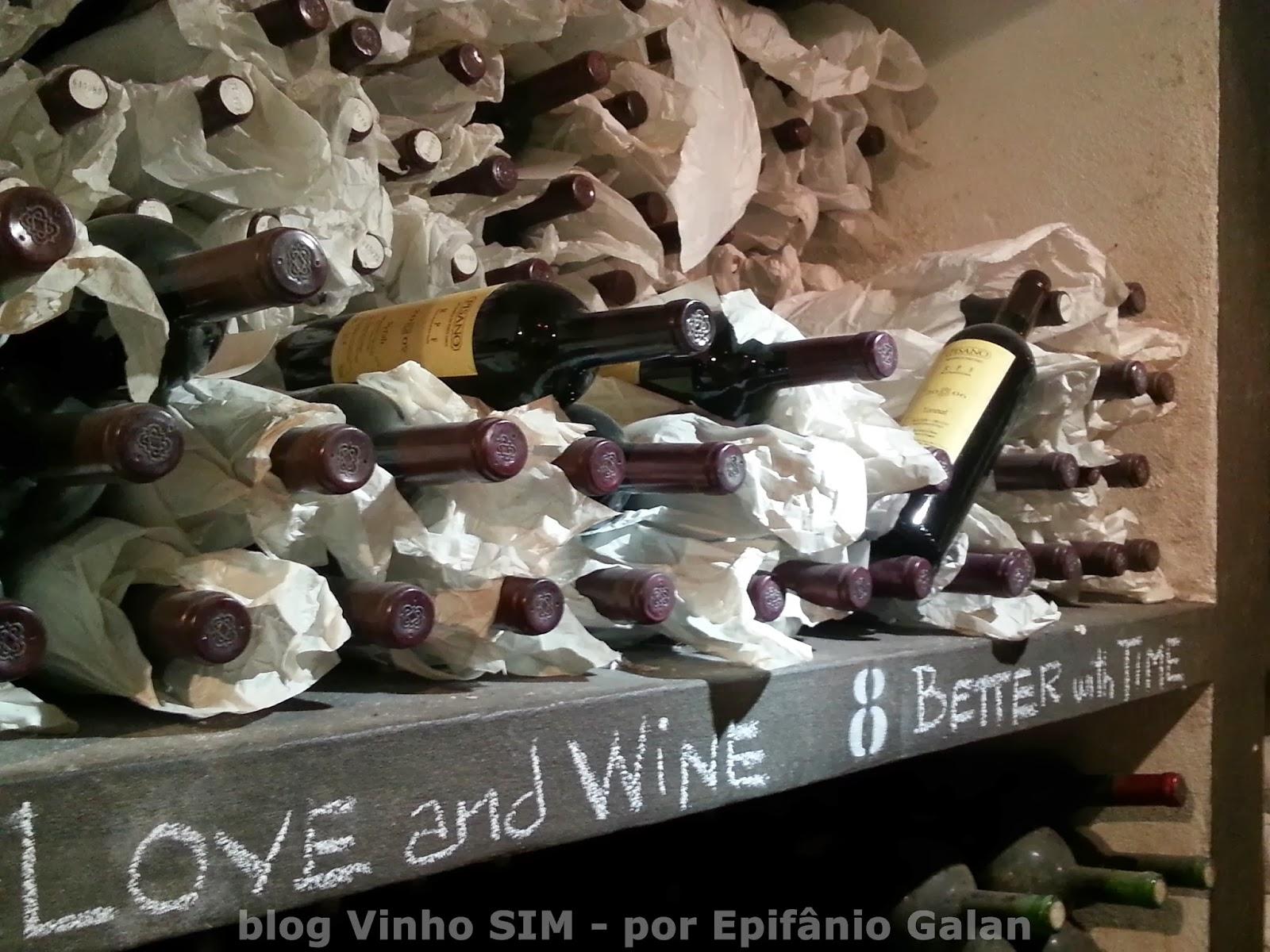 Visita do Blog Vinho SIM