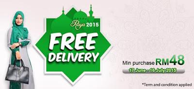 Raya Giveaway: Jualan Raya Meletop 2015