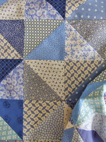 Broke Dishes baby quilt