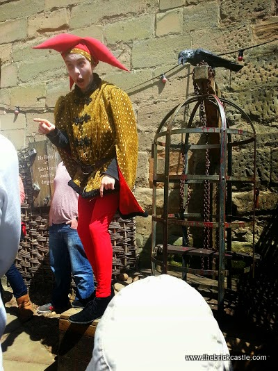 Warwick Castle Review - Dungeon entrance Jester