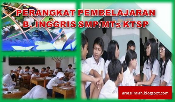 Js Aries Blog Perangkat Pembelajaran Bahasa Inggris Smp Mts Ktsp