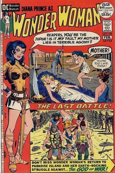 Wonder Woman #198