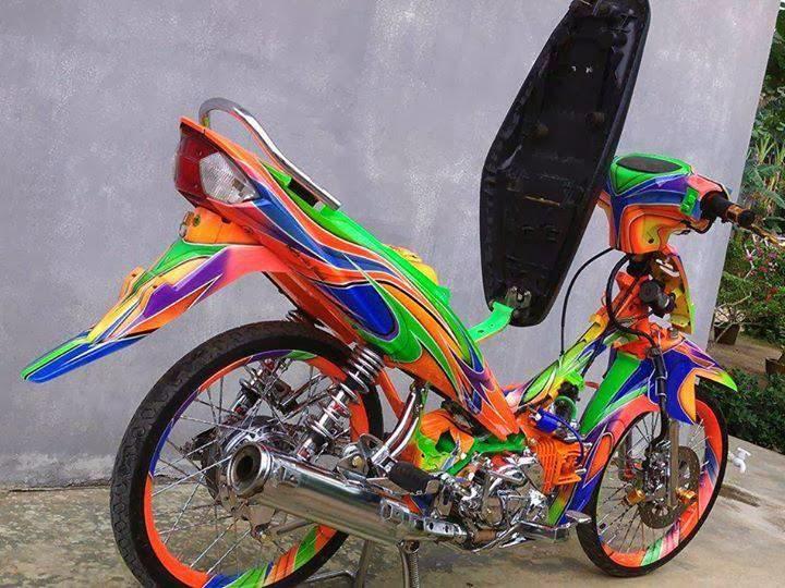 Variasi Motor Yamaha Vega Zr top