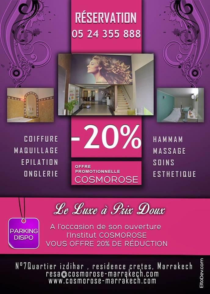 cosmorose marrakech