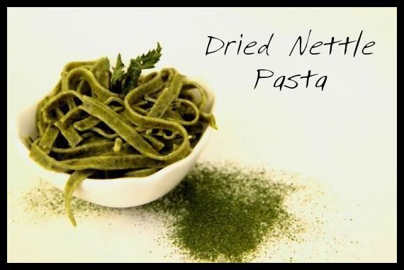 Dried Nettle Pasta | Hunger and Thirst