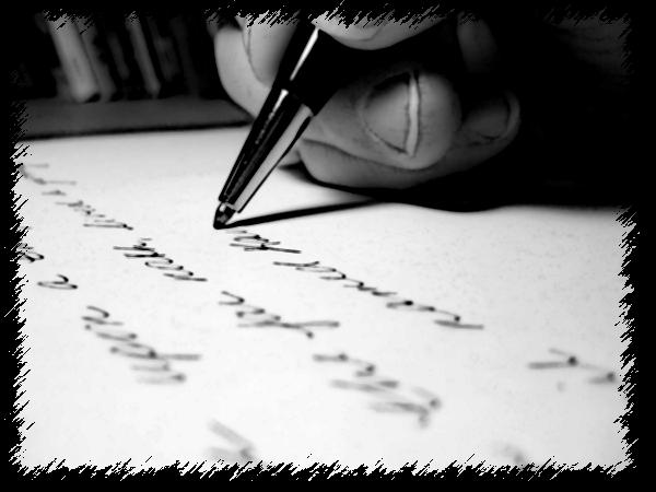 Quem escreve