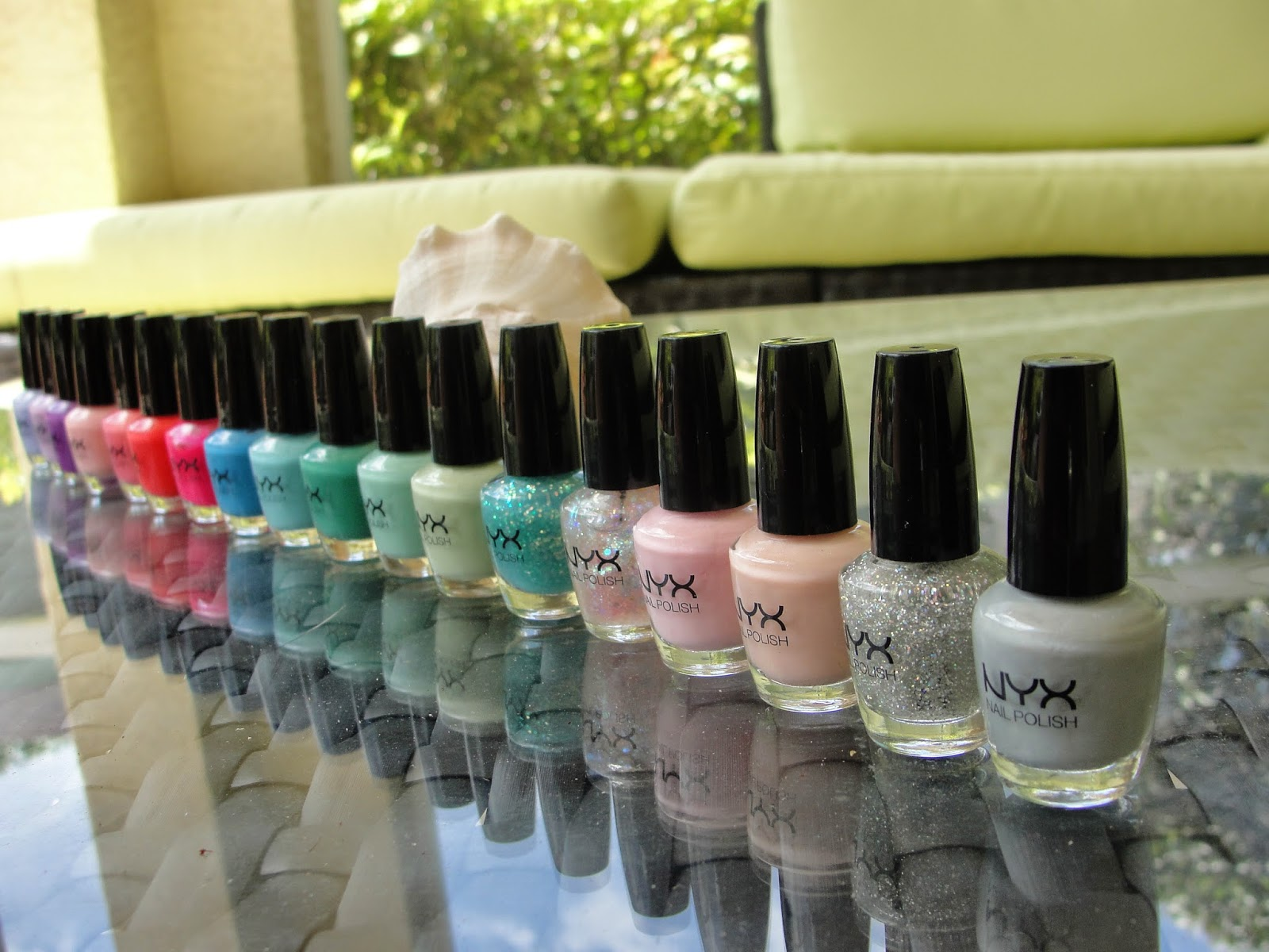 NYX Love Is In the Air Nail Polish Set Review
