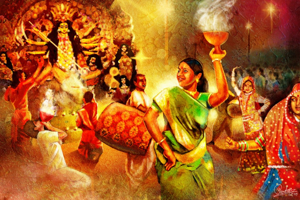 Image result for durga puja music