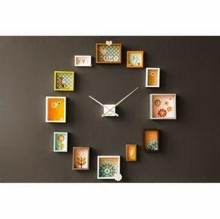 Icono interiorismo llega la hora de decorar con un reloj - Reloj pegado pared ...