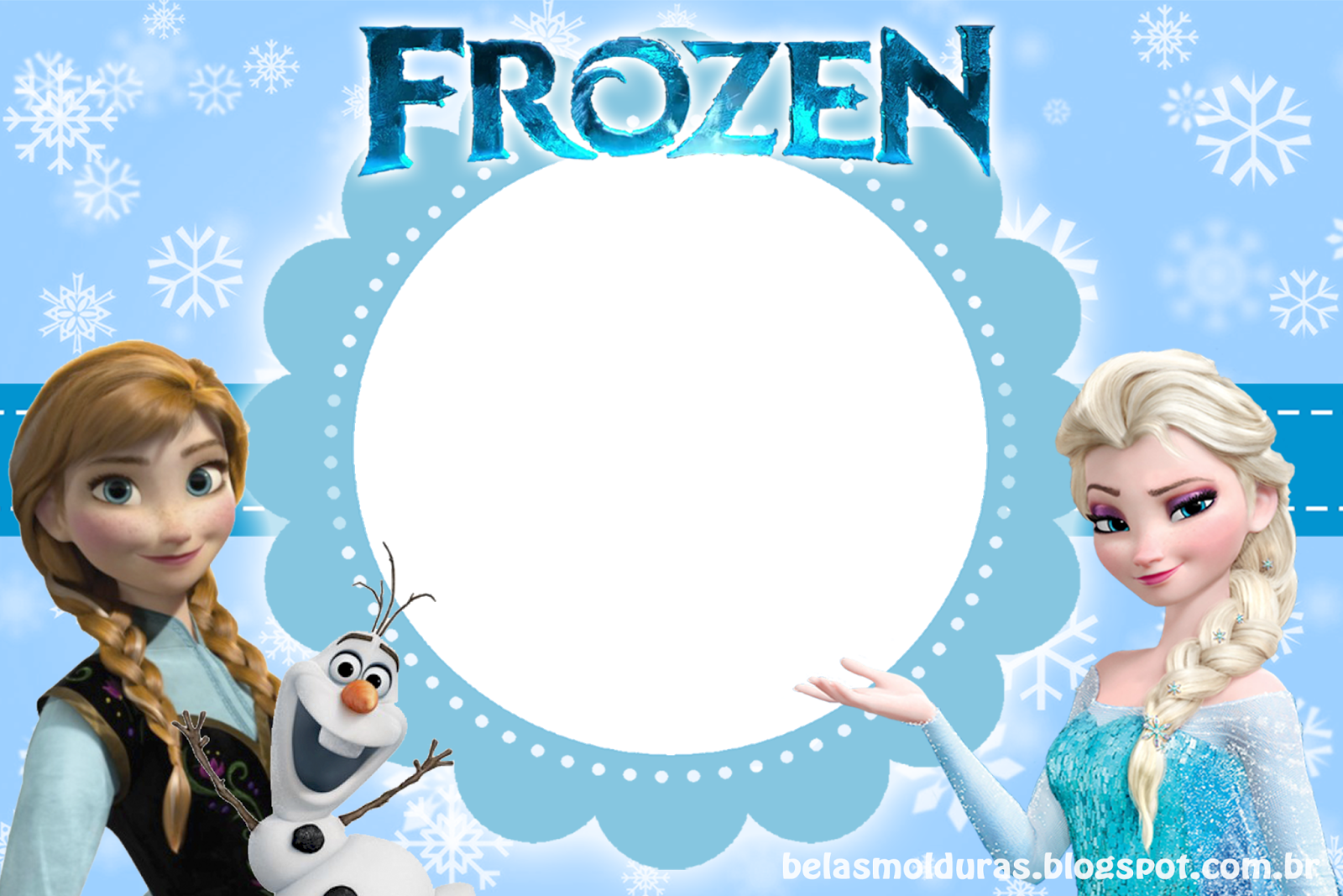 Frozen Online Invitations with best invitation sample