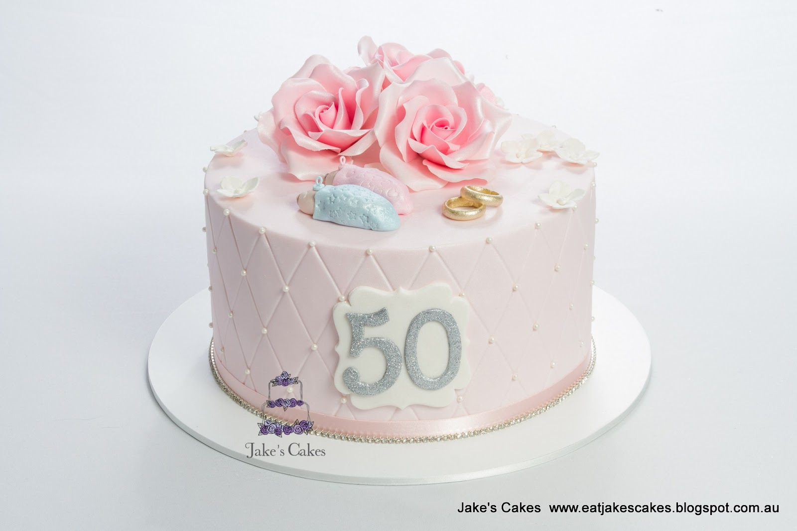 Jakes Cakes 50th Birthday Cake