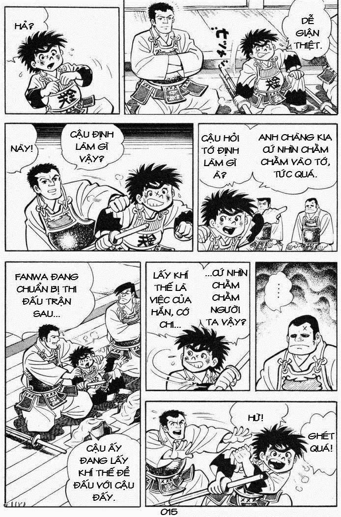 Siêu quậy Teppi chap 85 - Trang 15