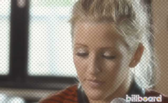 Ellie Goulding sings for Billboard