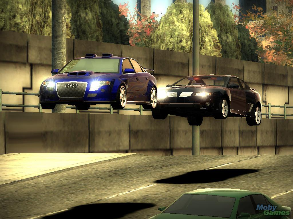 Here are some screenshots given for the need for speed most wanted pc game
