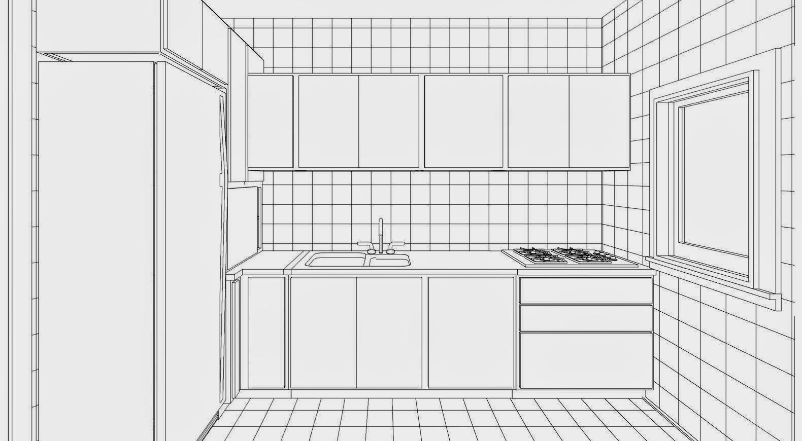 Disegno cucina angolare gt48 regardsdefemmes for Disegnare online 3d