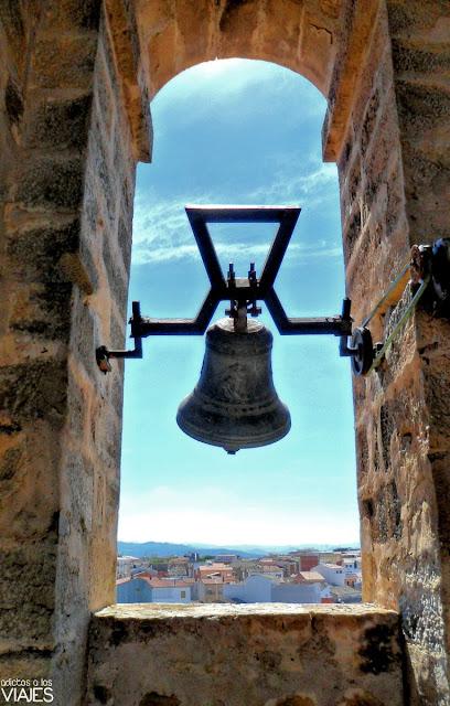 campanas de la iglesia de la Asunción de Villacarrillo