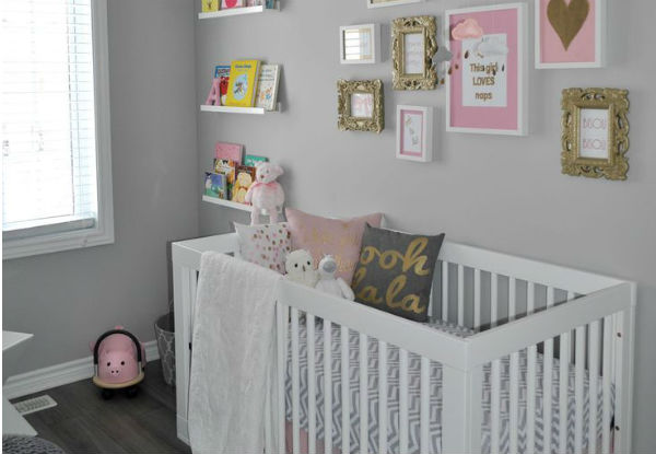 Fotos ideas para decorar casas - Dormitorios bebe nina ...