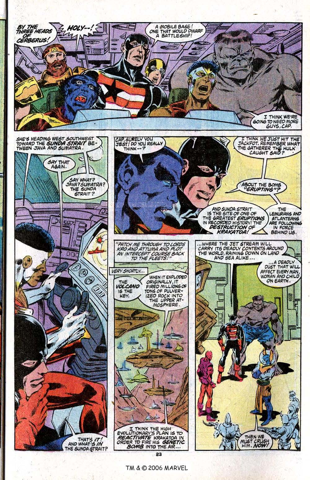 Captain America (1968) Issue #348c #280 - English 25