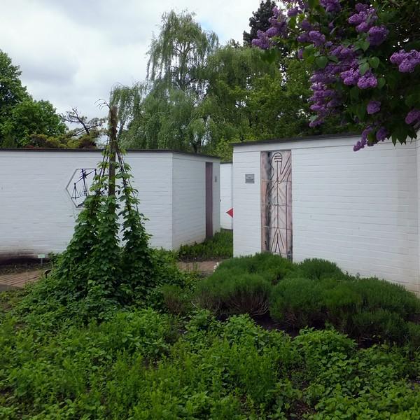 Hambourg Hamburg Parc Planten un Blomen Apothekergarten jardin médicinal