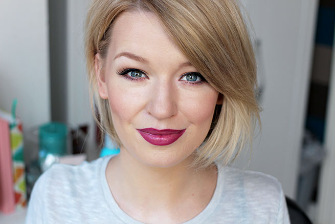 Beauty blogger reviews Collection Cosmetics Nationwide Blush Debate