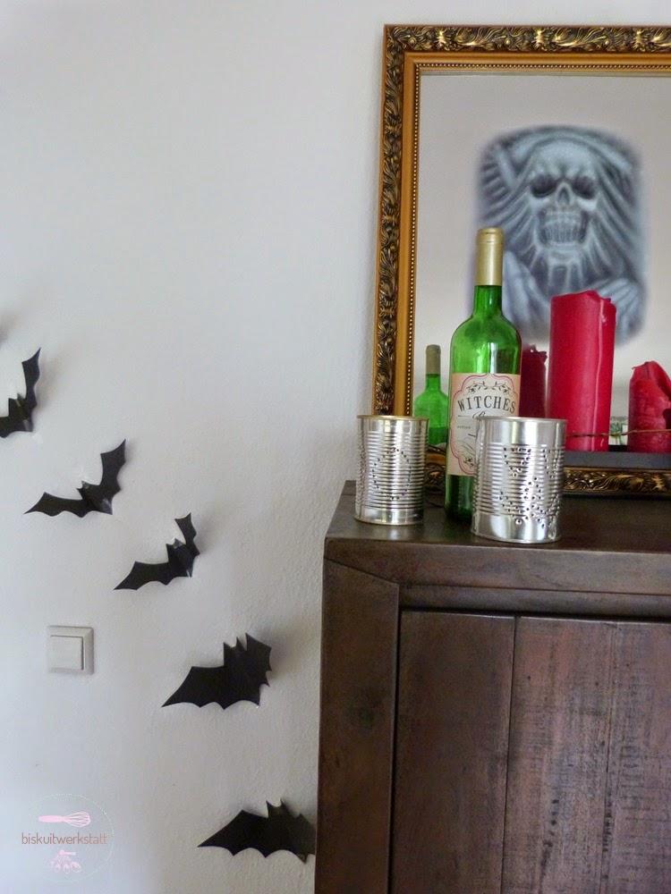 Schaurig sch ne diy deko tipps f r eure halloweenparty - Dekotipps fur wohnzimmerschrank ...