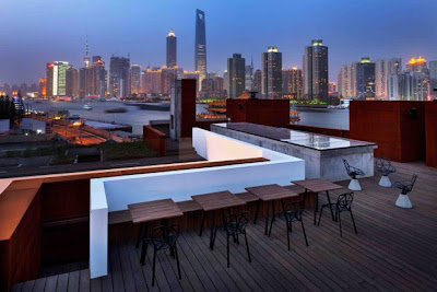 Neri&Hu, the waterhouse Hotel, Ausblick Shanghai