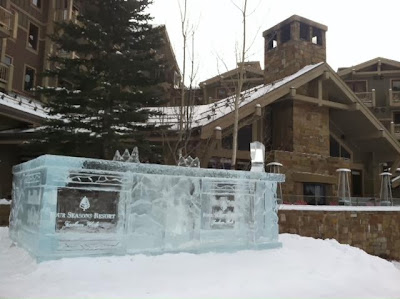 Four Seasons Jackson Hole ice bar