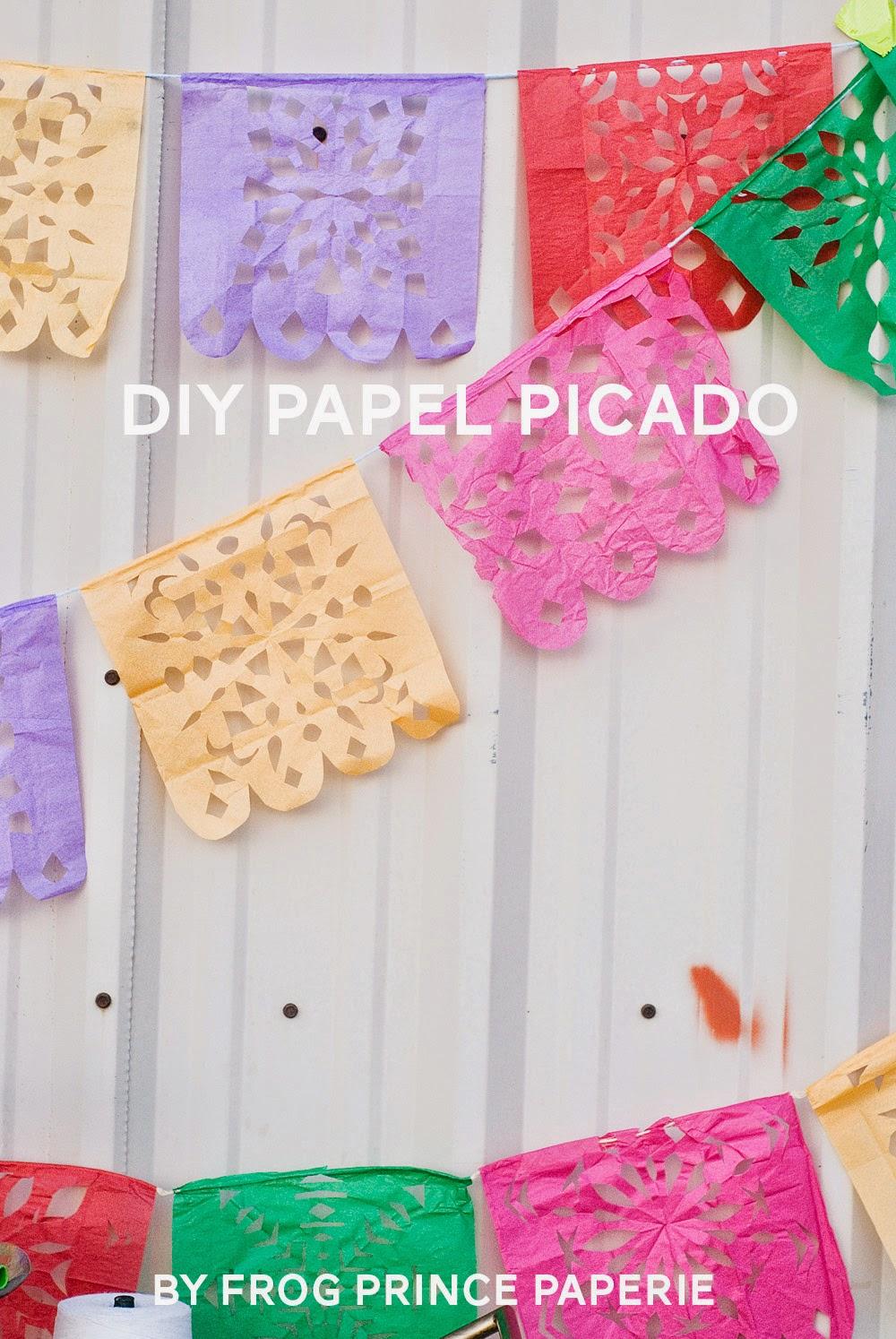 The Party Hop: Summer Fiesta DIY papel picado