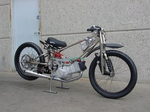 JOKERS JRM LAND SPEED RECORD BIKE