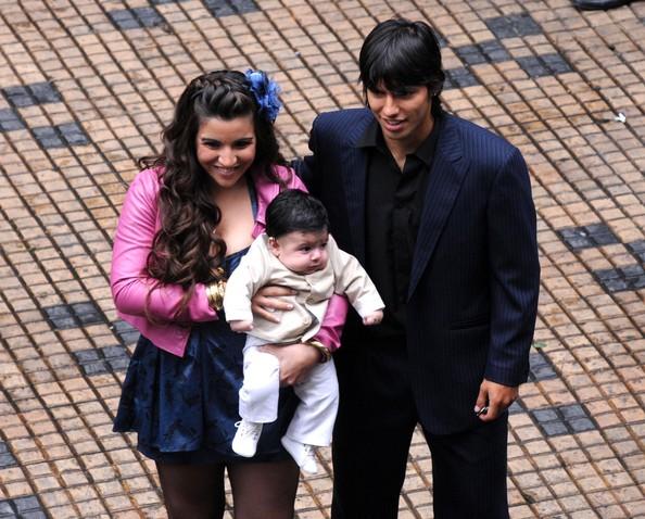Giannina Maradona 2013 Sergio Aguero With His...