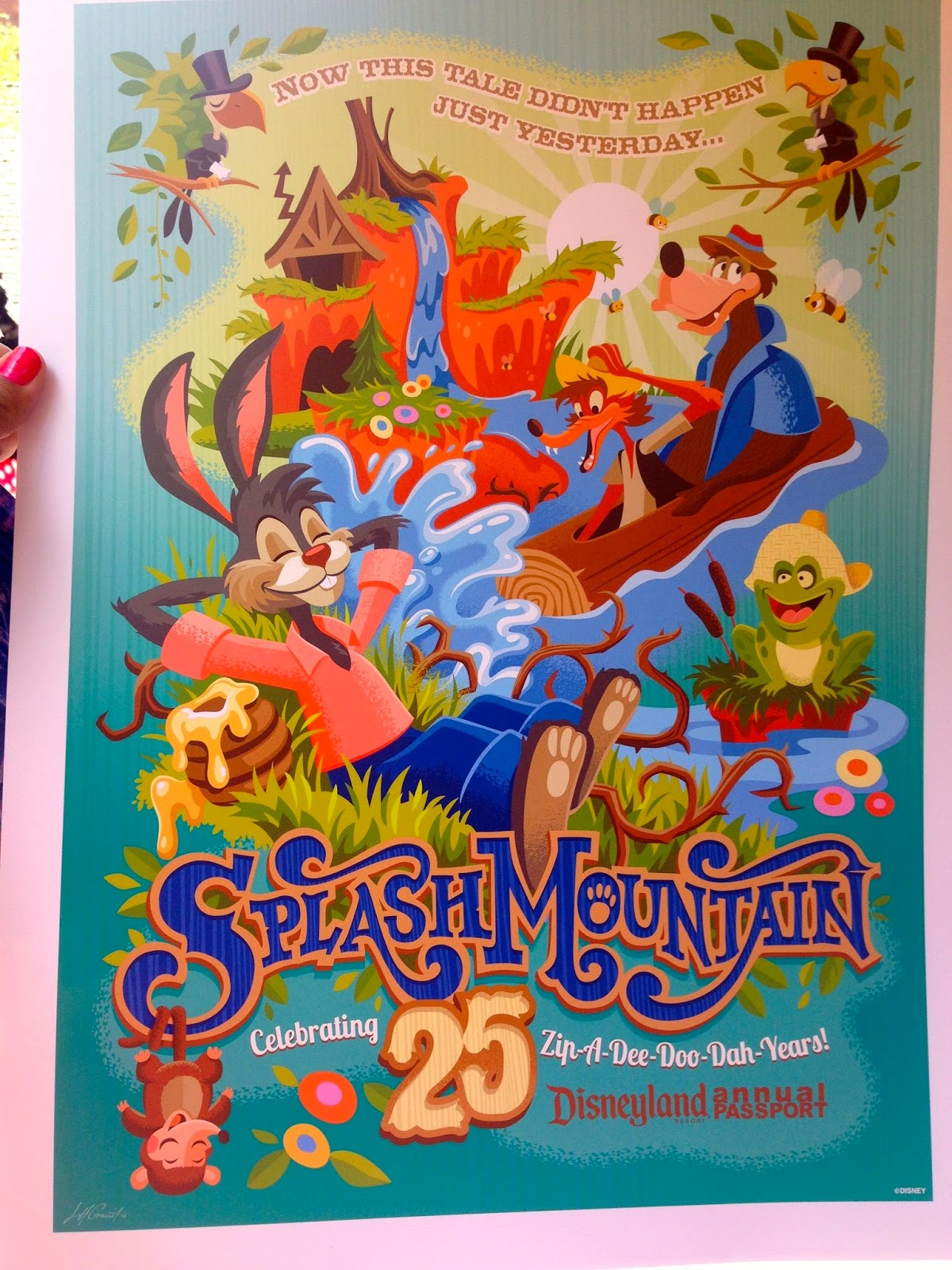 Splash Mountain Poster | www.pixshark.com - Images ...