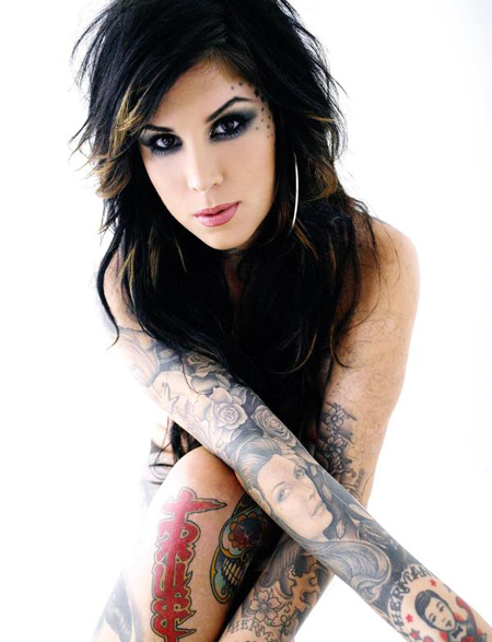 mehrapensmin: kat von d with no makeup