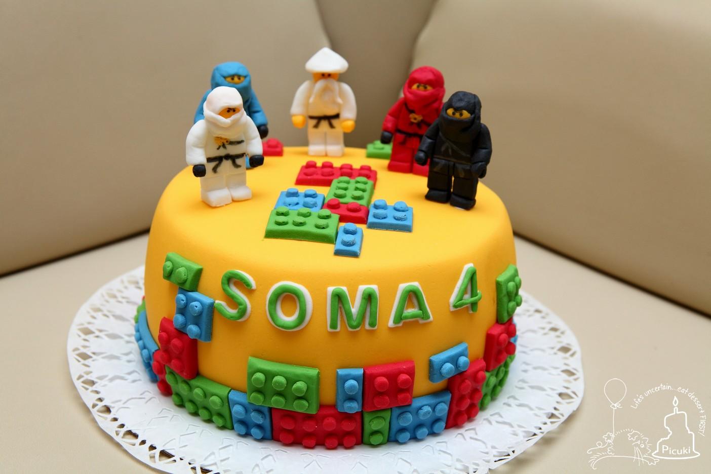 picuki ninjago lego torta