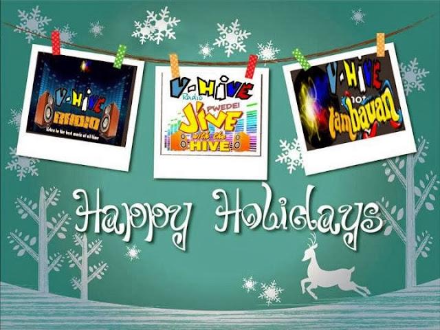 Happy Holidays from your V-Hive Radio Family!