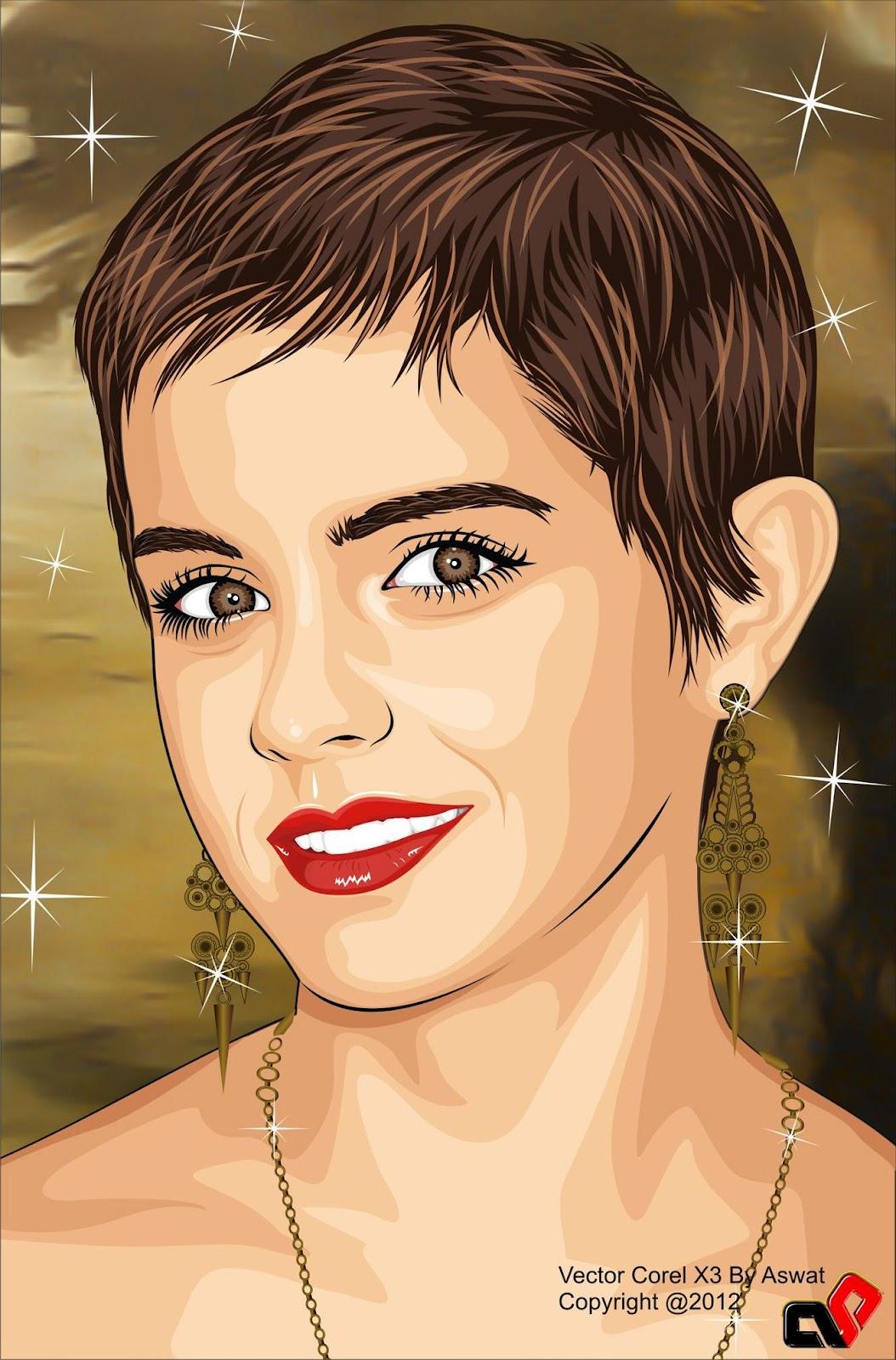 Emma Watson Cartoon