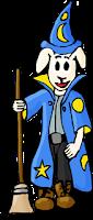 wizard, sheep, image