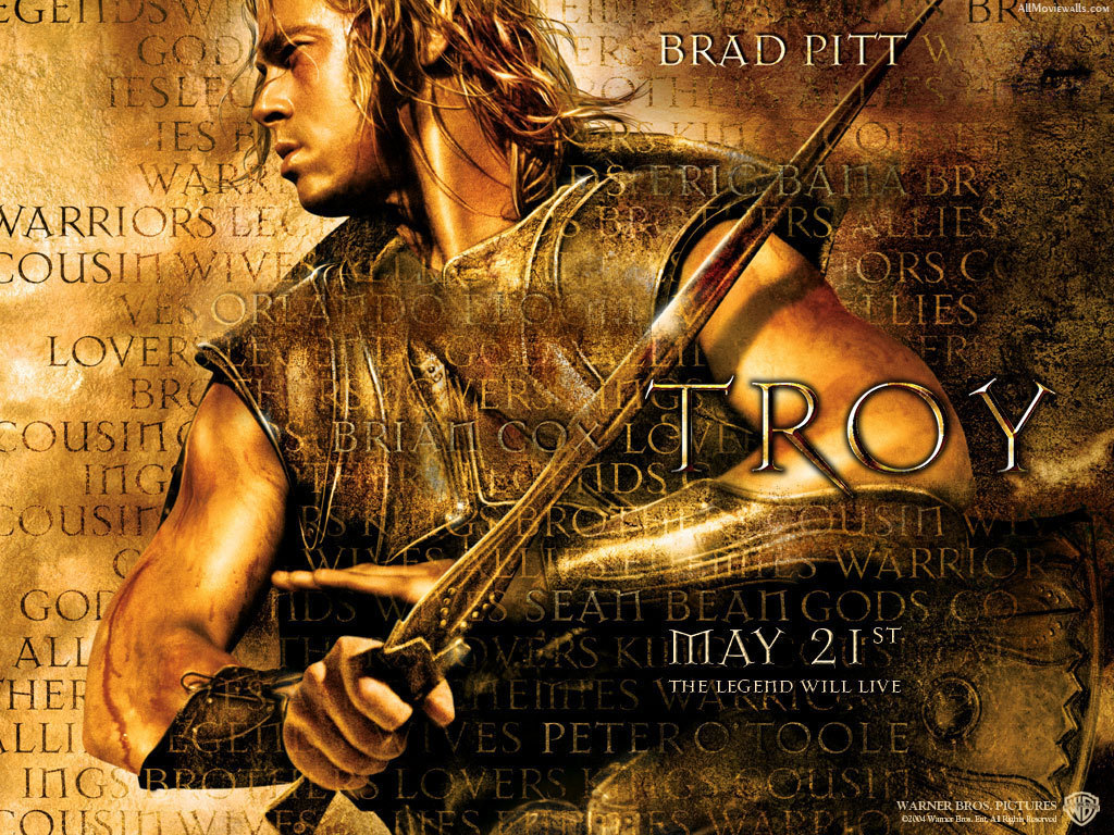 Pin Brad Pitt Troy Wallpaper Hot Gossip picture to pinterest.