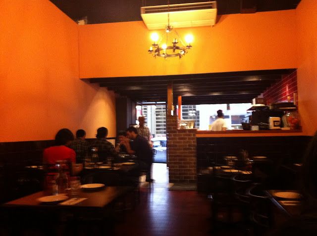 Ilovemyfoodlots encasa restaurant sydney australia for Australian cuisine restaurants sydney