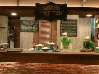 Warung Yu'Tien - Restoran Murah Dengan Menu Serba Bebek