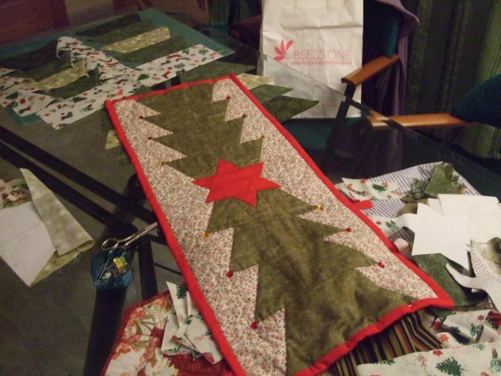 Irene y sus labores camino de mesa - Camino mesa patchwork ...
