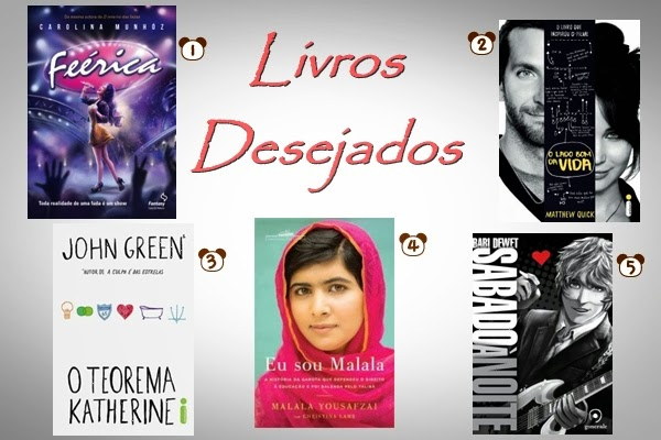 Wishlist, Natal, aniversário, livros